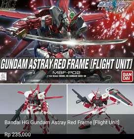 Bandai HG Gundam  Astray Red Frame [Flight Unit]