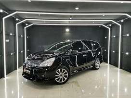 Grand Livina HWS matic AT th 2016 (L) Hitam km60rb VR17