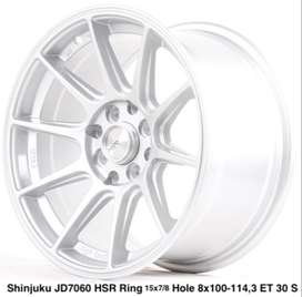 stock velg terbaru - shinjuku velg ring 15 swift march agya sirion dll