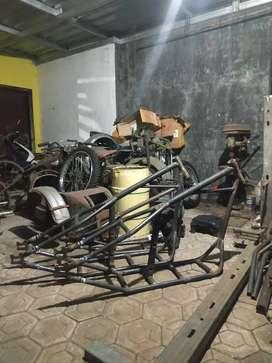 Frame chopper handmade
