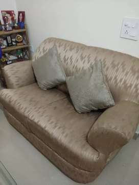 7 seater sofa and 5 chair dining table