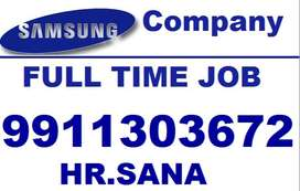 samsung full time job store keeper supervisor helper CALL Me Sana