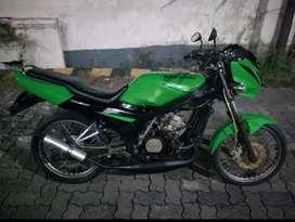 Ninja R 2004 hijau modif barong