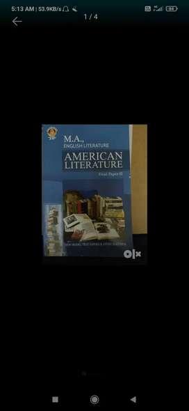 MA English A.U distance school education