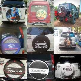 Cover/Sarung Ban Terios/Jimny/Ford Ecosport/Rush/Rohman#Top Iron Man K