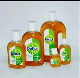 Dettol antiseptik antiseptic liquid cair 45ml