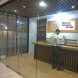 Disewakan Murah Office Golf Coast PIK 122m2 Full Furnish