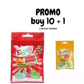 Promo Egoji Chewy Gummy 10+ 1