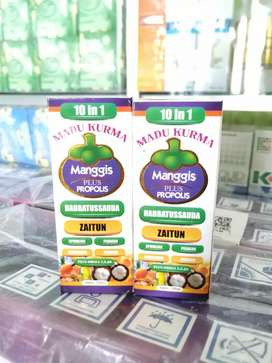 MADU KURMA manggis plus propolis netto 125 ml
