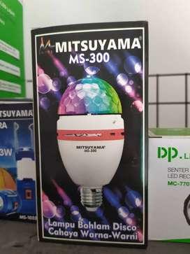 Lampu disco mitsuyama original high quality