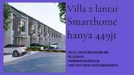 R400jt sudah dapat villa dua lantai di Batu