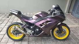 Kawasaki Ninja 250 Injeksi full aksesoris