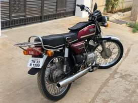 Yamaha RX 135 single hand