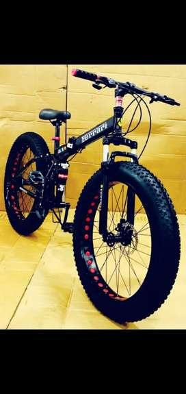 Ferrari Fat Tyre Folding Cycle 21 Shimano High Speed Gear Box