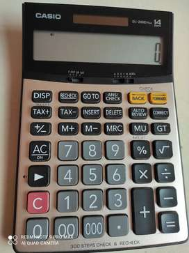 Casio calculator DJ-240D plus
