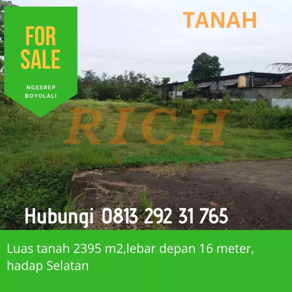 investasi menarik tanah di ngesrep dekat bandara