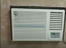 Used 1.5 Ton Onida Window AC for sale with warranty & Installation