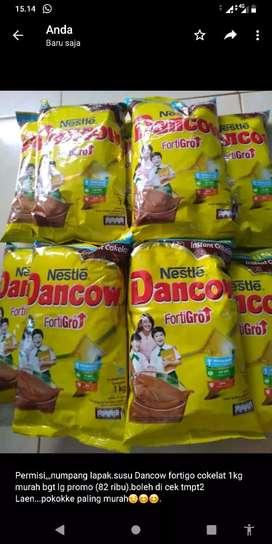 Susu Dancow fortigro cokelat 1 kg sangat murah.. segera hubungi TLP/wa