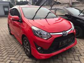 TOYOTA AGYA G TRD (AGYA) 1,200 AT 2017 Merah Metalik