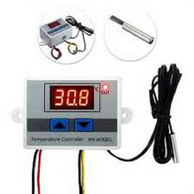 AC 220V W3001 LED Temperature Controller 10A Thermostat Control Switch