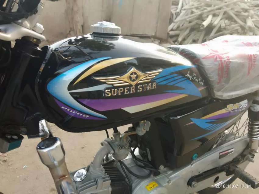 Super star 70cc bike. (2018) Model 0