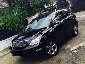 Toyota Harrier 2.4 L Premium Full Option 2005 Hitam PBD Panoramic (S)