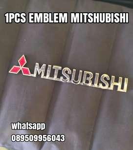 1PCS EMBLEM MITSHUBISHI