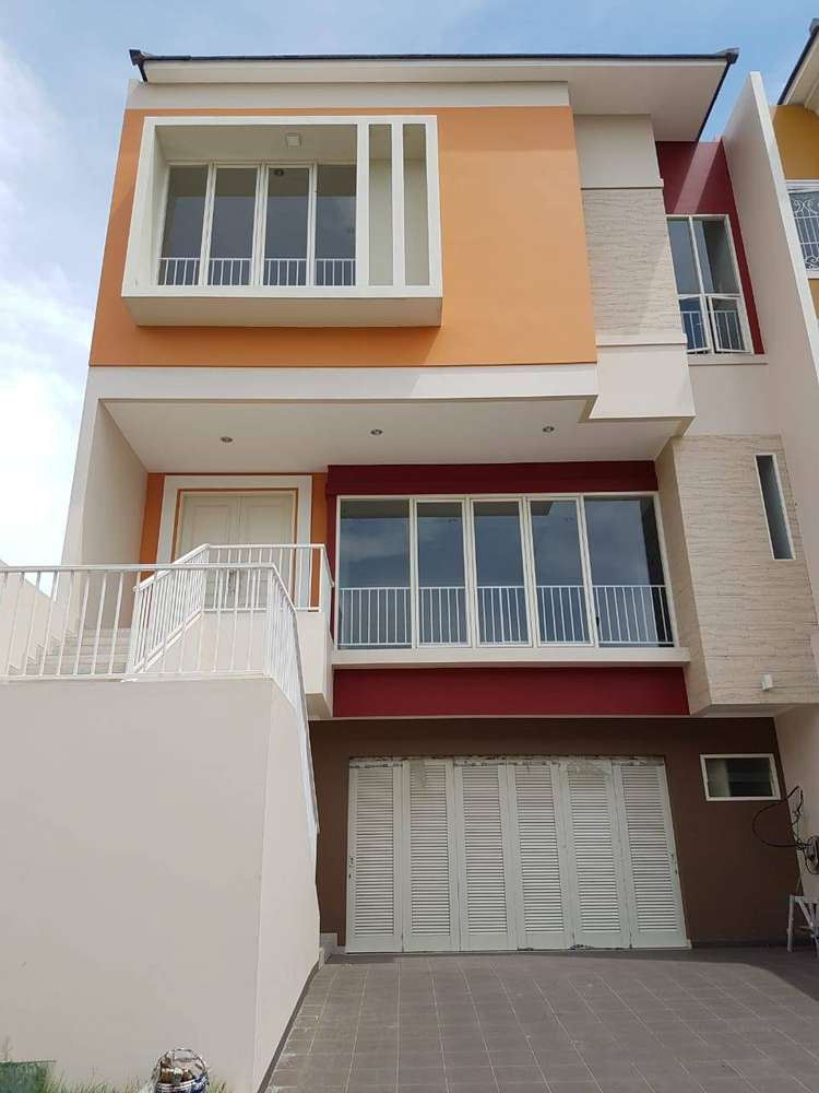 dijual rumah baru minimalis pantai indah kapuk