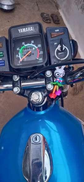 Yamha bike rx 100