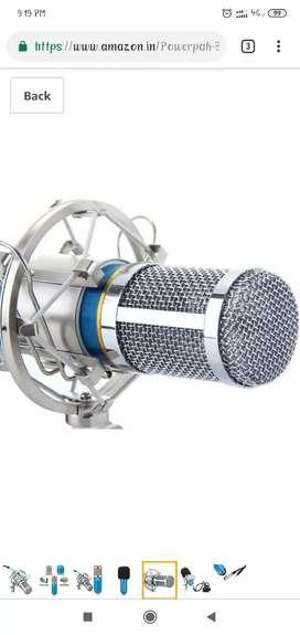 BM 800 condensor microphone