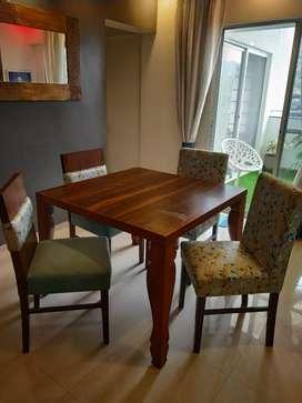 Sagwan dining table