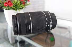 Lensa Canon 55-250 is II Muluus