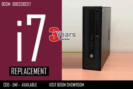 3 Years Warranty with Bill ( HP i7 CPU ) home Delivery Available
