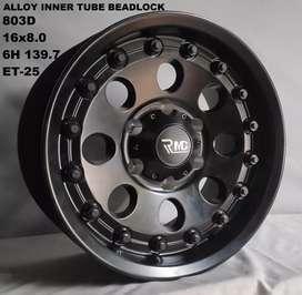 Velg offroad beadlock aluminum inner 16x8.0 6h 139.7 et-28