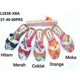 Sandal Slip Jelly Wanita