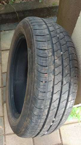 New MRF tyre repaired(Stiched) 195/55 R16