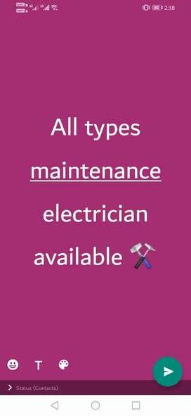 All types wearing maintenance work