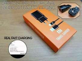 Travel charger xiaomi pegisian cepat original micro/type c