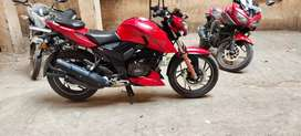 Apache rtr 200 mint condition recently service done paper clear