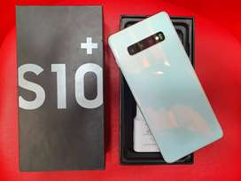 Samsung S10PLUS 8/128gb white on new condition