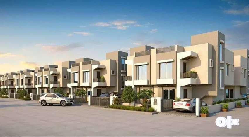 \Waghodia Road   3 BHK Duplex House for Sale  at  Akshar Aashray* 0