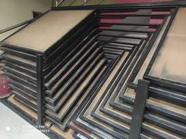 Tile geset rails and bookself