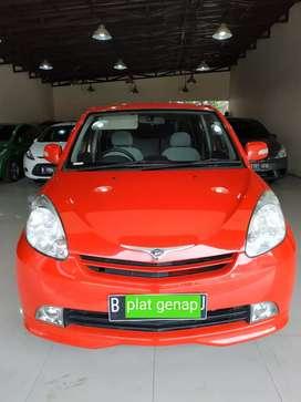 Daihatsu sirion M  AT 2008 istimewa si merah merona TDP murah