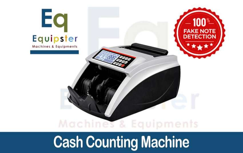 cash currency note counting machine in pakistan with fake detection 0