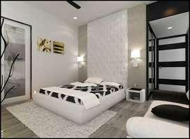 3 bhk luxury flats  an very spacious room