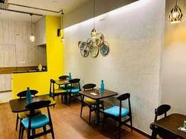 Fully Furnished Restaurant Set up
