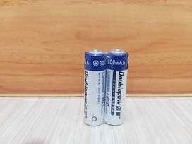 Baterai Rechargeable/Bisa Di Charge AA Kapasitas 1200 mAh - 2Pcs