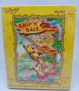 Puzzle Chip and Dale A