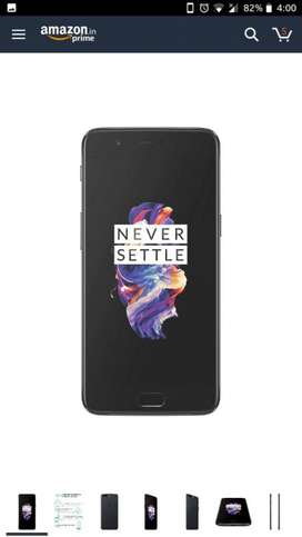 One plus five. Brought on October 2017. Awesome