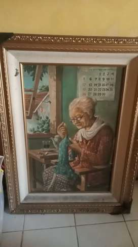 Lukisan nenek masih bagus